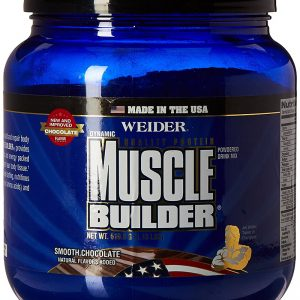 Weider Global Nutrition Muscle Builder – Dynamic – Powder – Chocolate – 1.15 Lb & Vanilla – 1.18lb