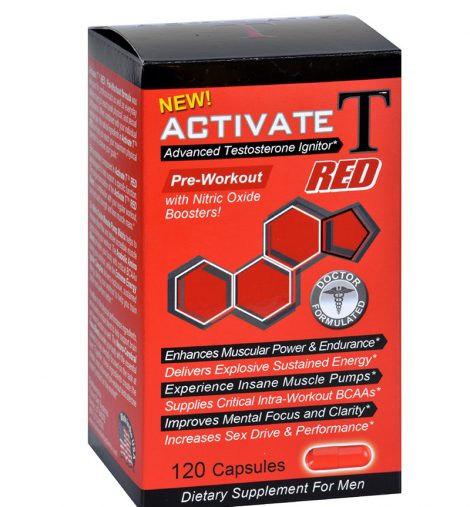 Fusion Diet Systems Active T Red