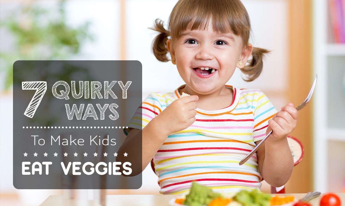 Ways to make kids eat veggies