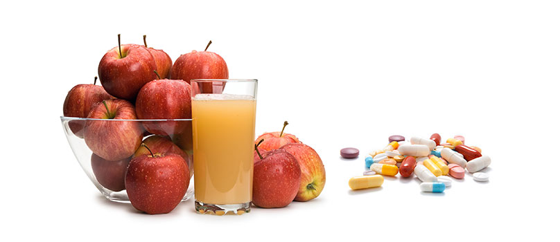 Apple-Juice-and-Allergy-Medicines