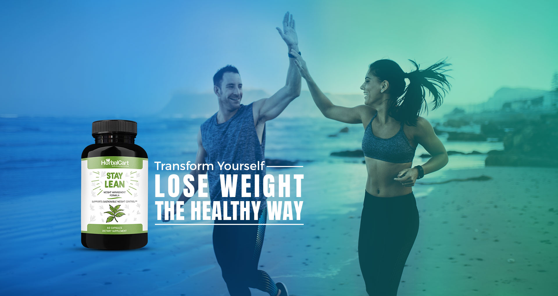 Couple transforming theirselves by loosing weight | Stay lean