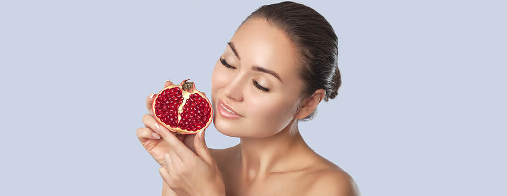 Pomegranate for a Softer Skin